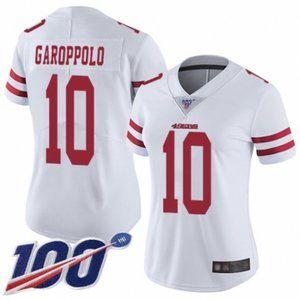 Women 49ers Jimmy Garoppolo 100th Season Jersey (1